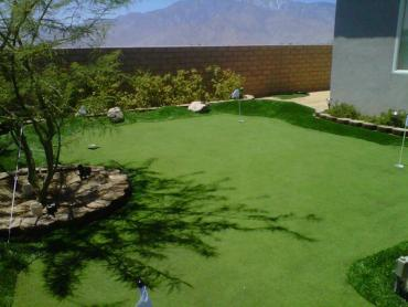 Artificial Grass Photos: Artificial Grass Installation Sanger, Texas Landscape Design, Beautiful Backyards
