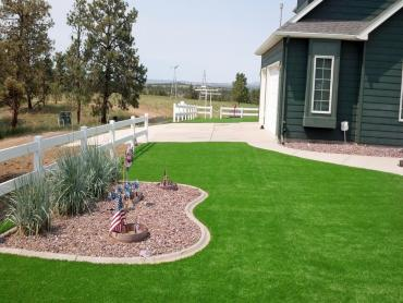 Artificial Grass Photos: Artificial Lawn Eagle Mountain, Texas Landscape Design, Front Yard Landscaping