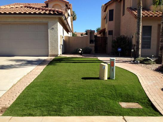 Artificial Grass Photos: Fake Lawn Plano, Texas Paver Patio, Front Yard