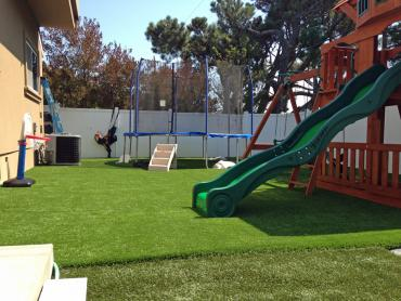 Artificial Grass Photos: Installing Artificial Grass Levelland, Texas Playground Flooring, Backyard Landscape Ideas