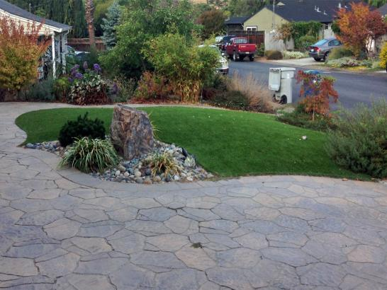 Artificial Grass Photos: Lawn Services Sonora, Texas Design Ideas, Front Yard Landscaping Ideas