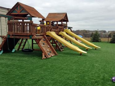 Turf Grass Abilene, Texas Lacrosse Playground, Commercial Landscape artificial grass