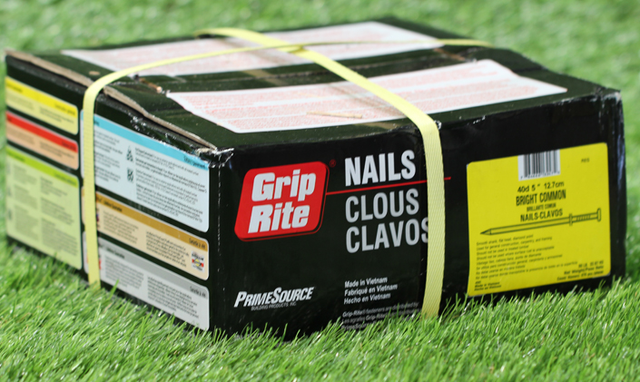Installation Nails Synthetic Grass Synthetic Grass Tools Installation | Texas Grass