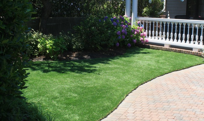 Synthetic Grass for Landscape Lawns | Texas Grass