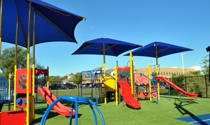 Artificial Grass for Playgrounds in Texas
